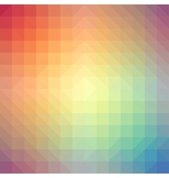 Light rainbow triangle gradient background vector