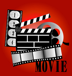 Movie items vector