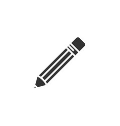 pencil icon design template isolated vector image
