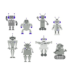 Robot toys vector image