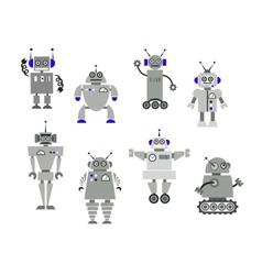 Robot toys vector