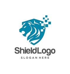 Shield Logo Template vector image