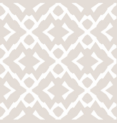 Subtle white and beige texture abstract geometric vector
