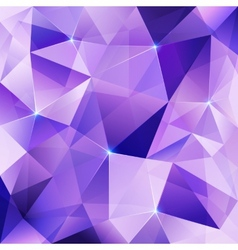 Violet crystal abstract background vector
