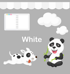 isolated color white group vector image