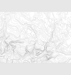 Light topographic topo contour map background vector image