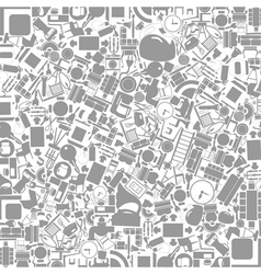 Furniture a background vector image