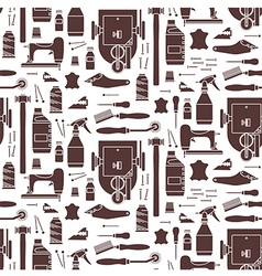 Seamless pattern of furrier tools vector