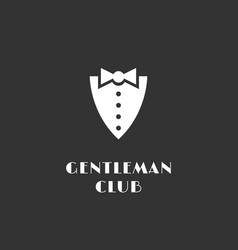 Gentleman club logo vector