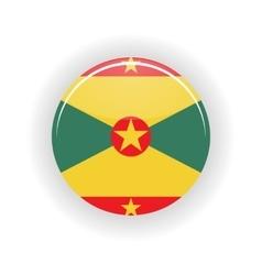 Grenada icon circle vector image