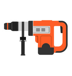 hammer working tool repair work drill holes vector image