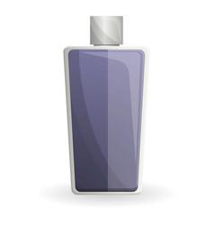 Man fragrance bottle icon cartoon style vector