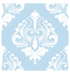 Pattern Blue Classic vector image