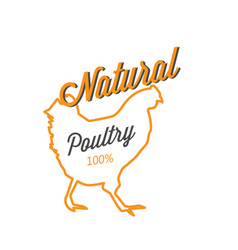 bbq natural poultry 100 image vector image vector image