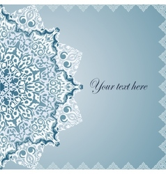 Vintage Background Traditional Ottoman motifs vector image