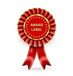 Award Label vector image
