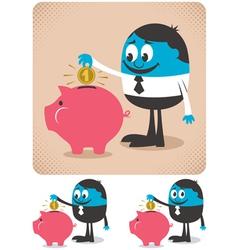 Savings vector image vector image
