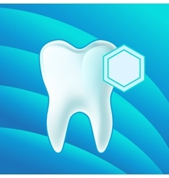 Concept teeth protection eps 10 vector