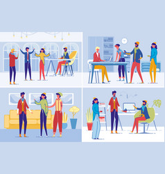 creative people team professional occupation vector image