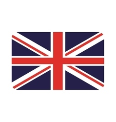 england flag isolated icon vector image