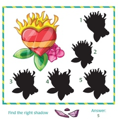 Find the shadow of pictures vector image