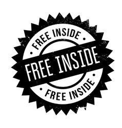 Free Inside rubber stamp vector