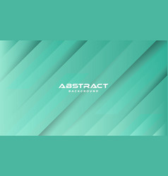 green abstract geometric background modern shape vector image