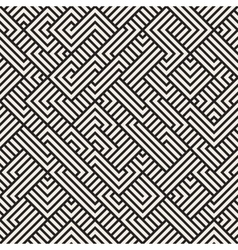 Seamless Irregular Maze Geometric Pattern vector