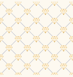 Seamless luxury geometric pattern with vector