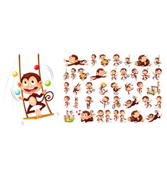 Set monkey character vector