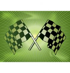 checkered past vector image vector image
