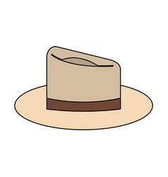 classic hat icon image vector image vector image