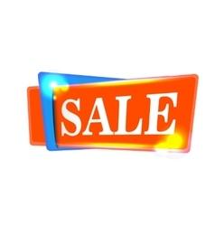 Sale banner design background Season discount vector image vector image