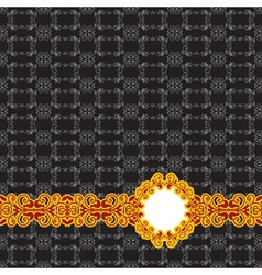 seamless vintage background vector image vector image
