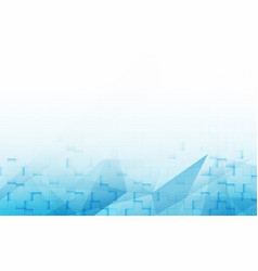 abstract blue and white geometric gradient vector image