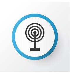 Broadcast icon symbol premium quality isolated vector