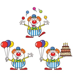 Cartoon clown design vector
