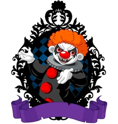 Halloween Clown vector image