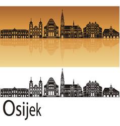 Osijek skyline vector