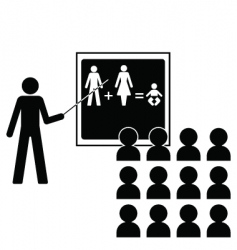 reproduction lesson vector image