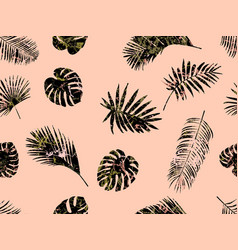 seamless modern exotic pattern fashionable vector image