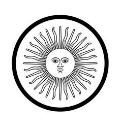 Symbol argentina - iconic design vector