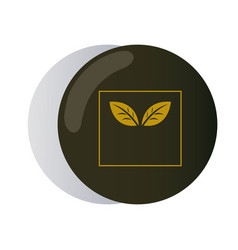 Symbol organic design for corporate company vector