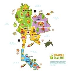 Thailand poster vector