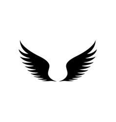 Wings icon design template isolated vector