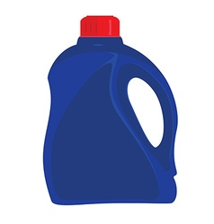 Cleaner bottle icon vector image