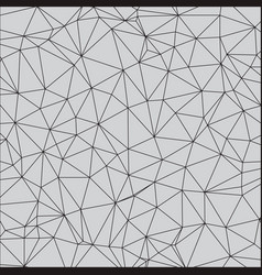 Geometric simple pattern with triangles vector