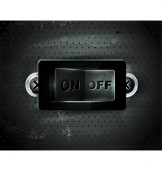 switch icon vector image
