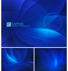 Sapphire abstract background vector image