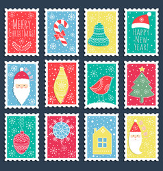 the christmas banners vector image vector image